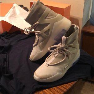 Nike Shoes - Nike Air Fear of God Oatmeal